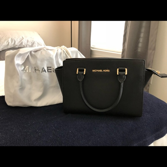 2b458dc3b7e8 MICHAEL Michael Kors Bags | Black Mk Purse | Poshmark